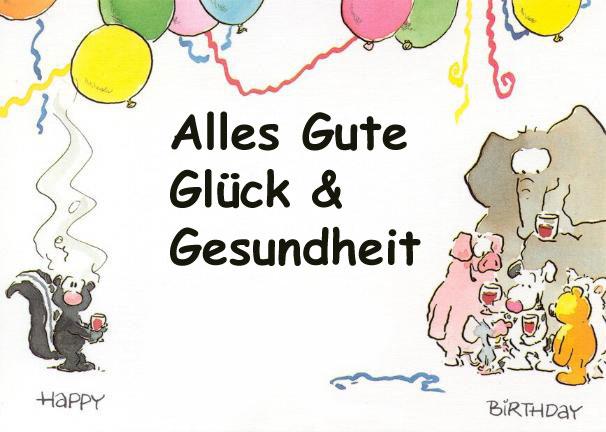 Happy Birthday Karlchen Stinktiergeburtstag